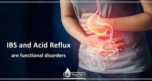 IBS and Acid Reflux are functional disorders