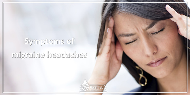 Symptoms of migraine headaches
