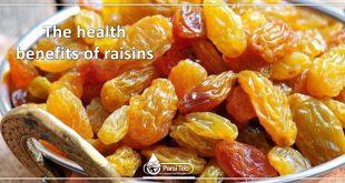 The health benefits of raisins
