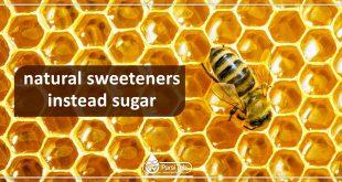 natural sweeteners instead sugar