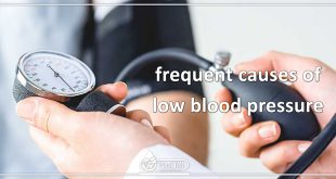 frequent causes of low blood pressure