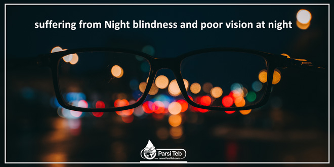suffering from Night blindness and poor vision at night