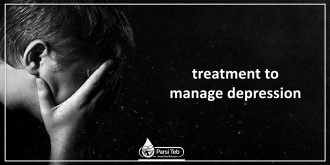 treatment to manage depression