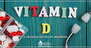 vitamin D is nessecery for calcium absorbtion