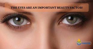 The eyes are an important beauty factor!