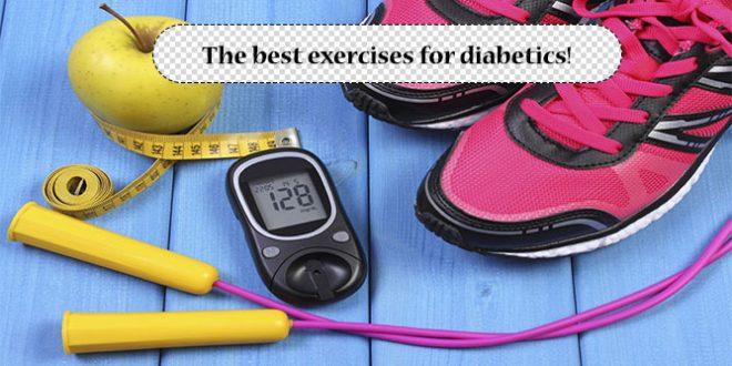The best exercises for diabetics!