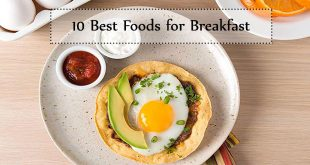 10 best foods for breakfast