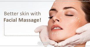 Better skin with Facial Massage!